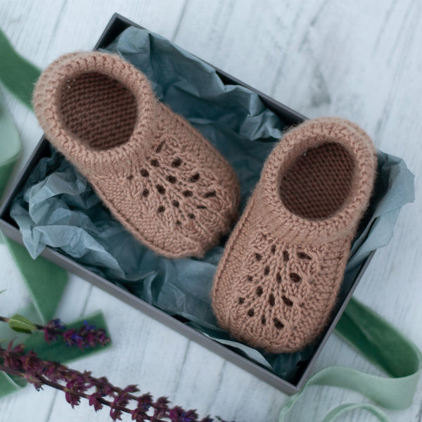 'Grace' Stay-On Baby Shoe