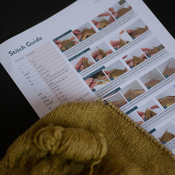 Julia Adams Patterns Grace Shoe stitch guides